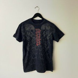 Red Chapter Rock & Roll Graphic Tee Shirt 2 Sided